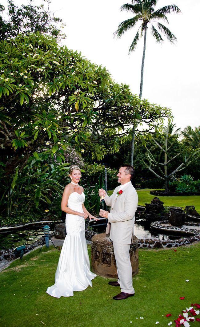 Tamara and Darren: Kauai Wedding 29